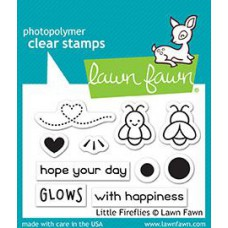 Lawn Fawn - Little Fireflies - Clear Stamps 2x3