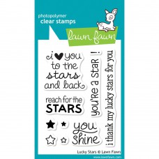 Lawn Fawn - Lucky Stars - Clear Stamps 3x4