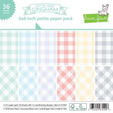 Lawn Fawn - Petite Paper Pack 6x6 - Gotta Have Gingham