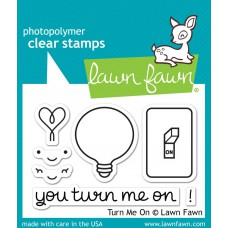"Lawn Fawn - Stempelset 2x3"" - Turn Me On"