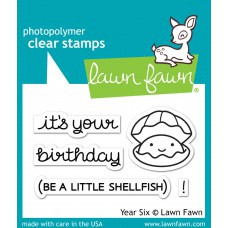 "Lawn Fawn - Stempelset 2x3"" - Year Six"