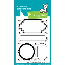 "Lawn Fawn - Stempelset 3x4"" - Just For You Labels"