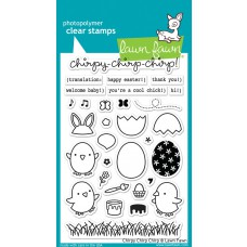 "Lawn Fawn - Stempelset 4x6"" - Chirpy Chirp Chirp"
