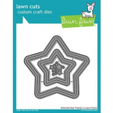 Lawn Fawn - Stitched Star Frames - Stanze