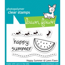 Happy summer stempel