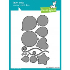 Lawn Fawn - Lawn Cuts - Party Balloons