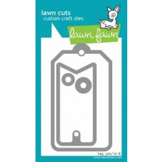 Lawn Fawn - Lawn Cuts - Tag, You`re It