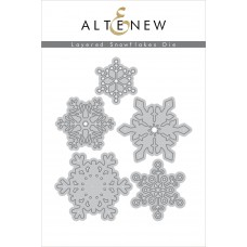Altenew - Layered Snowflakes - Stanze