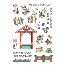 LDRS Creative - Clear Stamps -  Bunny Band Pals