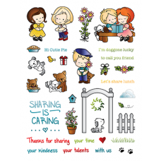 LDRS Creative - Clear Stamps -  Friends