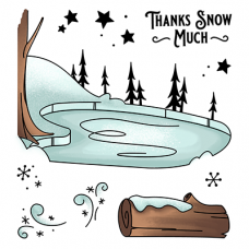 LDRS Creative - Clear Stamps -  Ice Valley