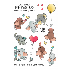 LDRS Creative - Clear Stamps -  Up and Away