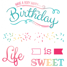 LDRS Creative - Life is Sweet - Clear Stamps