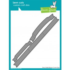 Lawn Fawn - Fancy Folded Banners - Stanze
