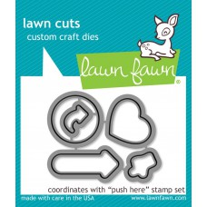 Lawn Fawn - Push Here - Stanze