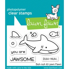 Lawn Fawn - Duh-Nuh - Clear Stamp 2x3
