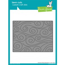 Lawn Fawn - Stitched Windy Backdrop - Stanze
