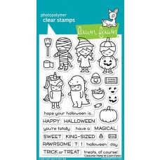 Lawn Fawn - Costume Party - Clear Stamps 4x6