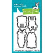 Lawn Fawn - For You, Deer - Stanze