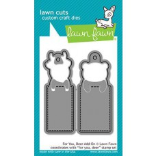 Lawn Fawn - For You, Deer Add-On - Stanze