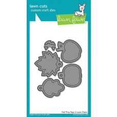 Lawn Fawn - Fall Tiny Tags - Stanze