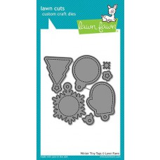 Lawn Fawn - Winter Tiny Tags - Stanze