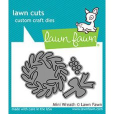 Lawn Fawn - Mini Wreath - Stanze