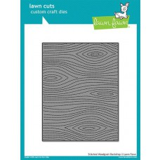 Lawn Fawn - Stitched Woodgrain Backdrop - Stanze