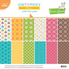 Lawn Fawn - Collection Pack 12x12 - Knit Picky Fall