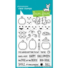 Lawn Fawn - Pick o the patch - Clear Stamps 4x6