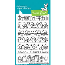 Lawn Fawn - Simply Celebrate Winter - Clear Stamps 4x6