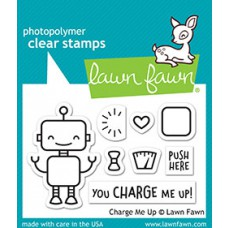 Lawn Fawn - charge me up - Clear Stamp 2x3