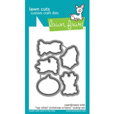 Lawn Fawn - Say What? Christmas Critters - Stanzen