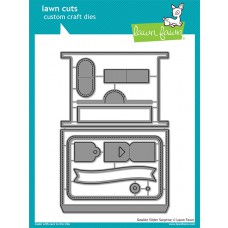 Lawn Fawn - Double Slider Surprise - Stanze