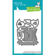Lawn Fawn - Tiny Gift Box Bat Add-On - Stanze