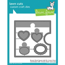 Lawn Fawn - Reveal Wheel Square Add-On - Stanze