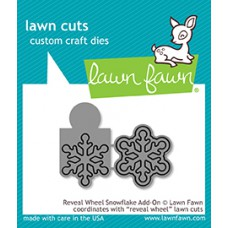 Lawn Fawn - Reveal Wheel Snowflake Add-On - Stanze