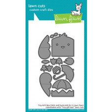 Lawn Fawn - Tiny Gift Box Chick And Duck Add-On - Stanze