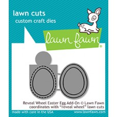 Lawn Fawn - Reveal Wheel Easter Egg Add-On - Stanze