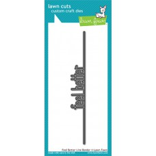 Lawn Fawn - Feel Better Line Border - Stanze