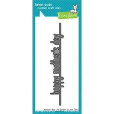 Lawn Fawn - Mother's Day Line Border - Stanze