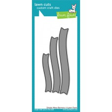 Lawn Fawn - Simply Wavy Banners - Stanze