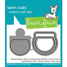 Lawn Fawn - Keep On Swimming Reveal Wheel Add-On - Stanzen