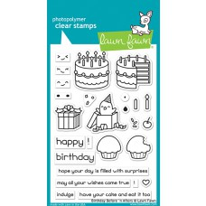 Lawn Fawn - Birthday Before 'n Afters - Clear Stamp 4x6