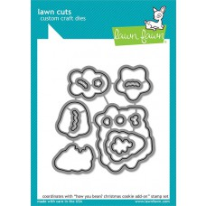 how you bean? christmas cookie add-on lawn cuts