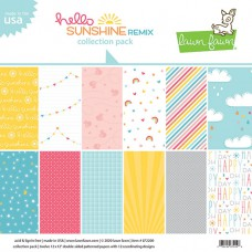 Lawn Fawn - hello sunshine remix collection pack