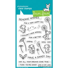 Lawn Fawn - dandy day - Clear Stamp 4x6