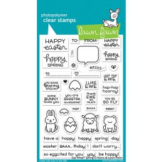 Lawn Fawn - say what? spring critters - Clear Stamp 4x6