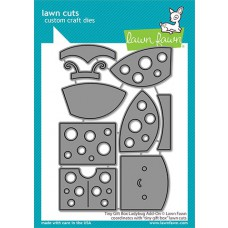 Lawn Fawn - tiny gift box ladybug add-on - Stanzen