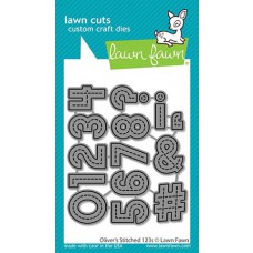 Lawn Fawn - oliver's stitched 123s - Stanzen